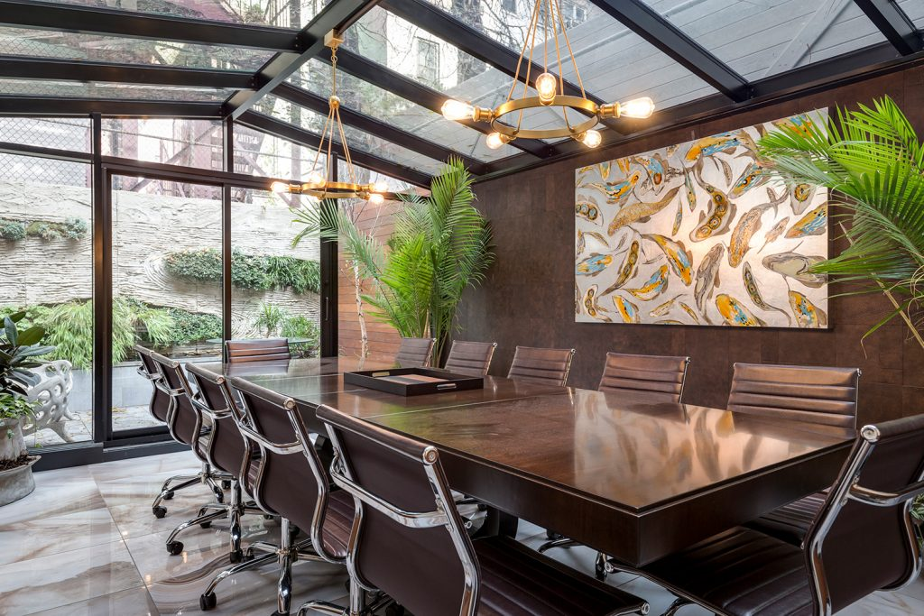 Archetype Sackman Office KLAD Wall by Keleen Leathers, Inc.