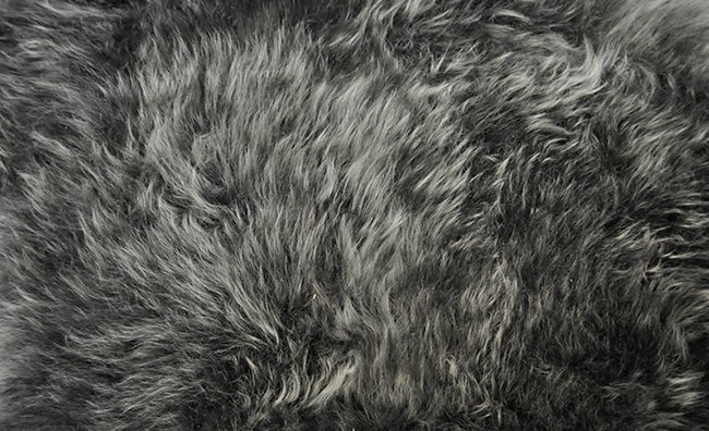 Bonesteel Shearling Rug Close-up