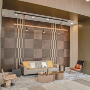 North Harbor Tower Chicago - Keleen Leathers KLAD Luxury Leather Wall Tiles Illinois