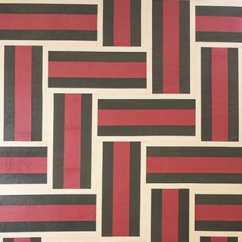 Via Roma Inspired Leather Wall Tiles by Keleen Leathers, Inc.