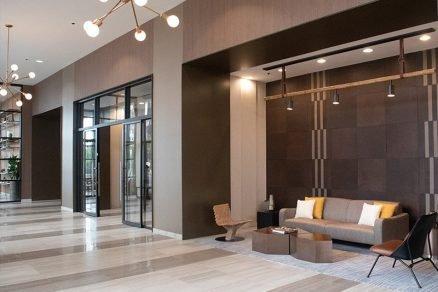 North Harbor Tower Residences Chicago Illinois Keleen Leathers KLAD Luxury Wall