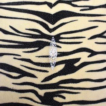 Shagreen Stingray - Cream Zebra