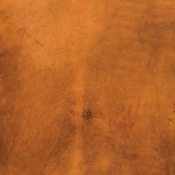 DYED PARCHMENT - AMBER HIDE