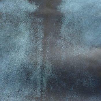 DYED PARCHMENT - BLUE HIDE
