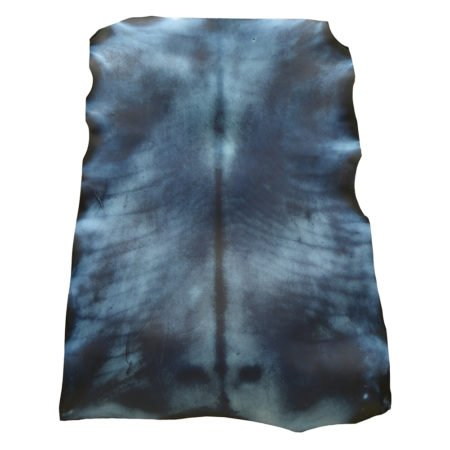 DYED PARCHMENT - BLUE HIDE