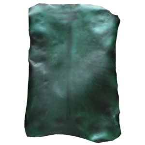 DYED PARCHMENT - GREEN HIDE
