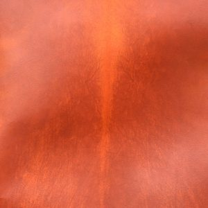 DYED PARCHMENT - ORANGE HIDE