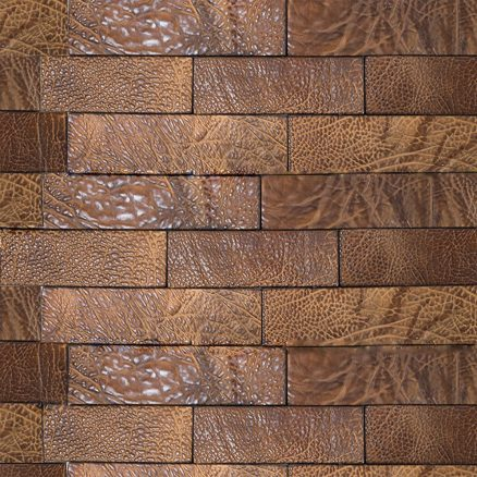 Leather Hide Sides by Keleen Leathers for leather wall tiles