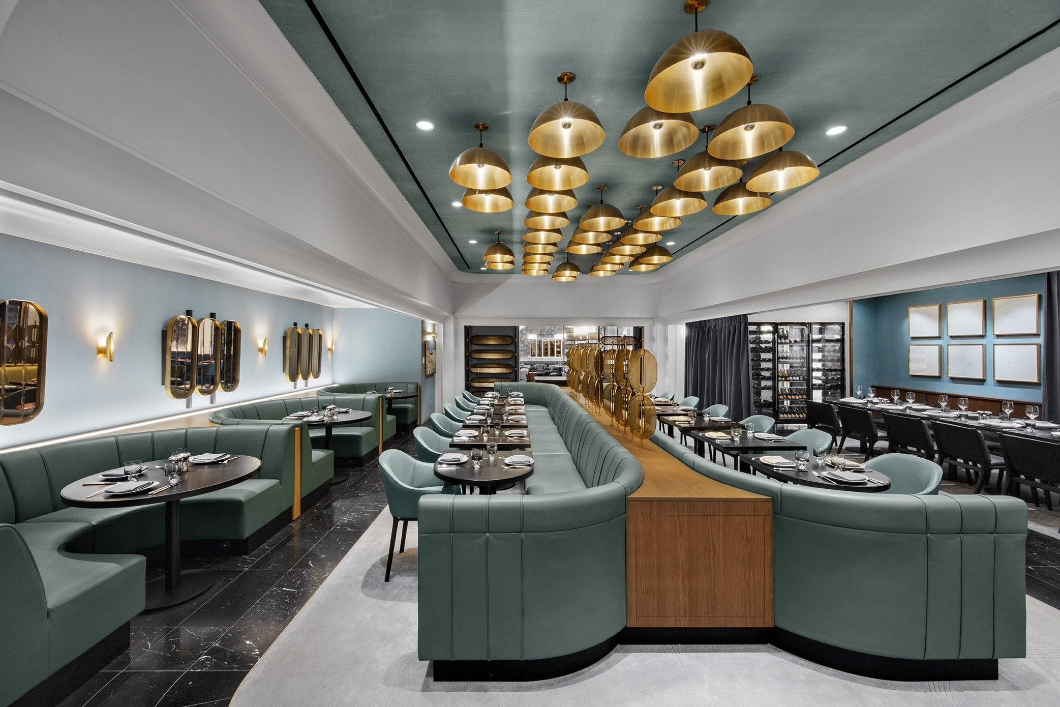 The Zodiac Room Neiman Marcus Hudson Yards New York - Leather by Keleen