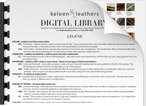 request download for keleen leathers digital leather library