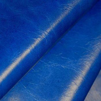 blue upholstery leather hide string keleen